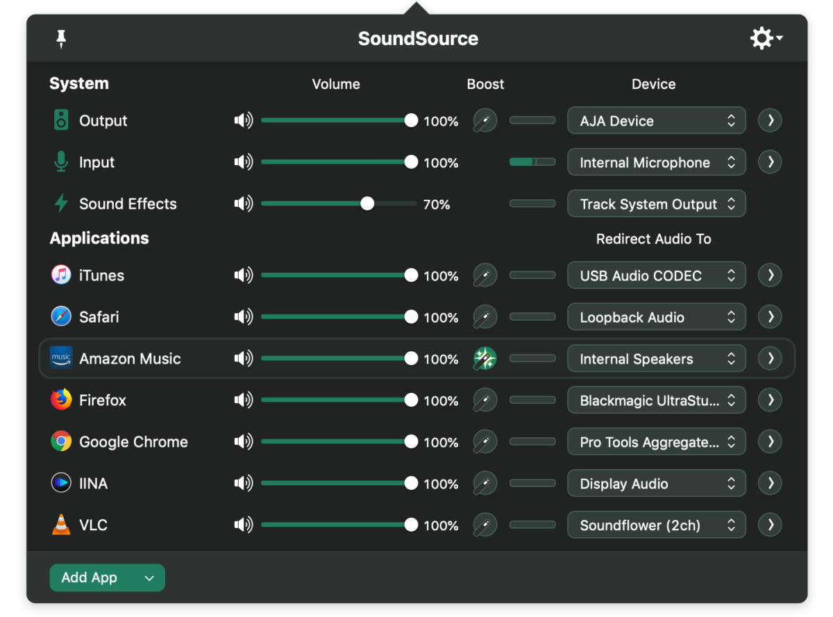 soundsource 4 redirect audio