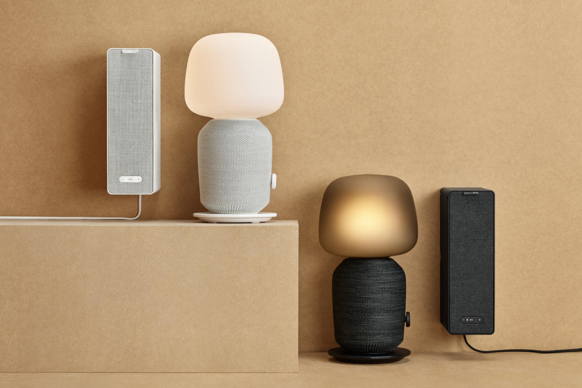 IKEA Symfonisk speakers review: Sonos made sure they sound great, but that  Scandi-chic lamp design is polarizing | TechHive