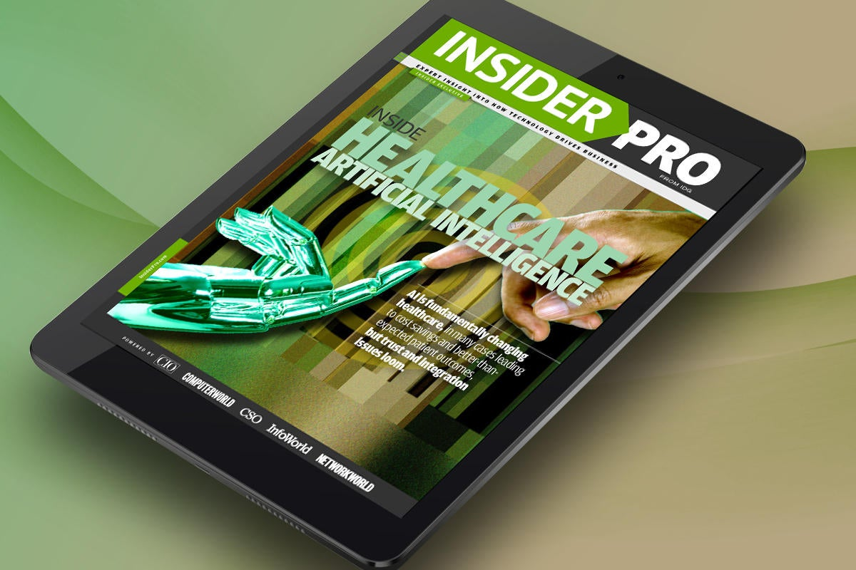 tablet vertical primary healthcare ai insider pro