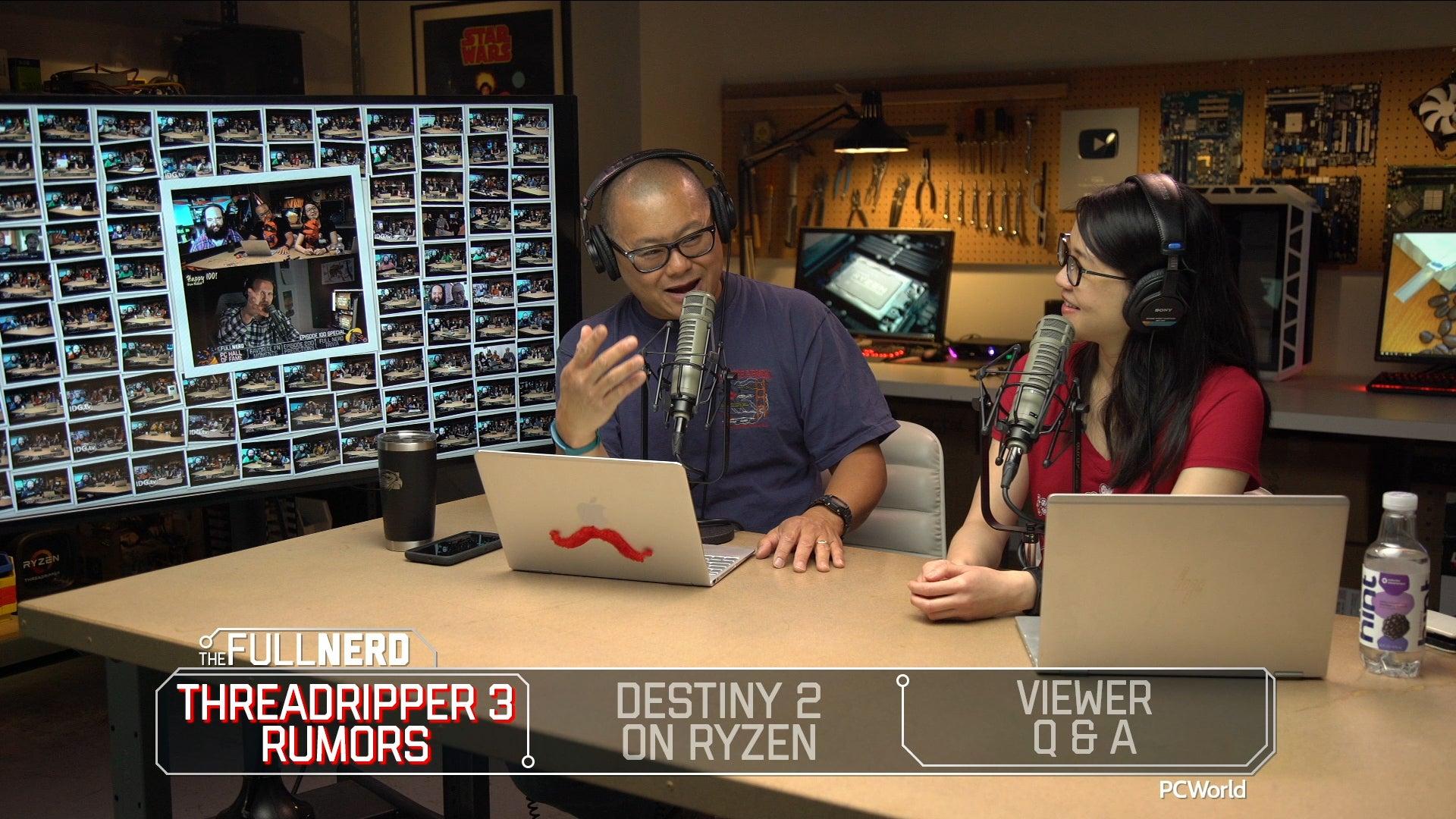 Threadripper 3 rumors, Destiny 2 on Ryzen, Q&A | The Full