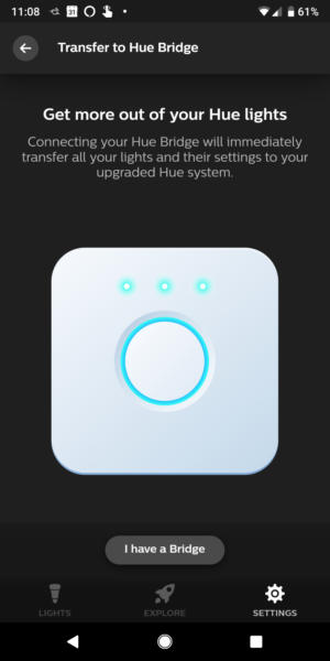 transfer hue bulbs from bt to bridge 0