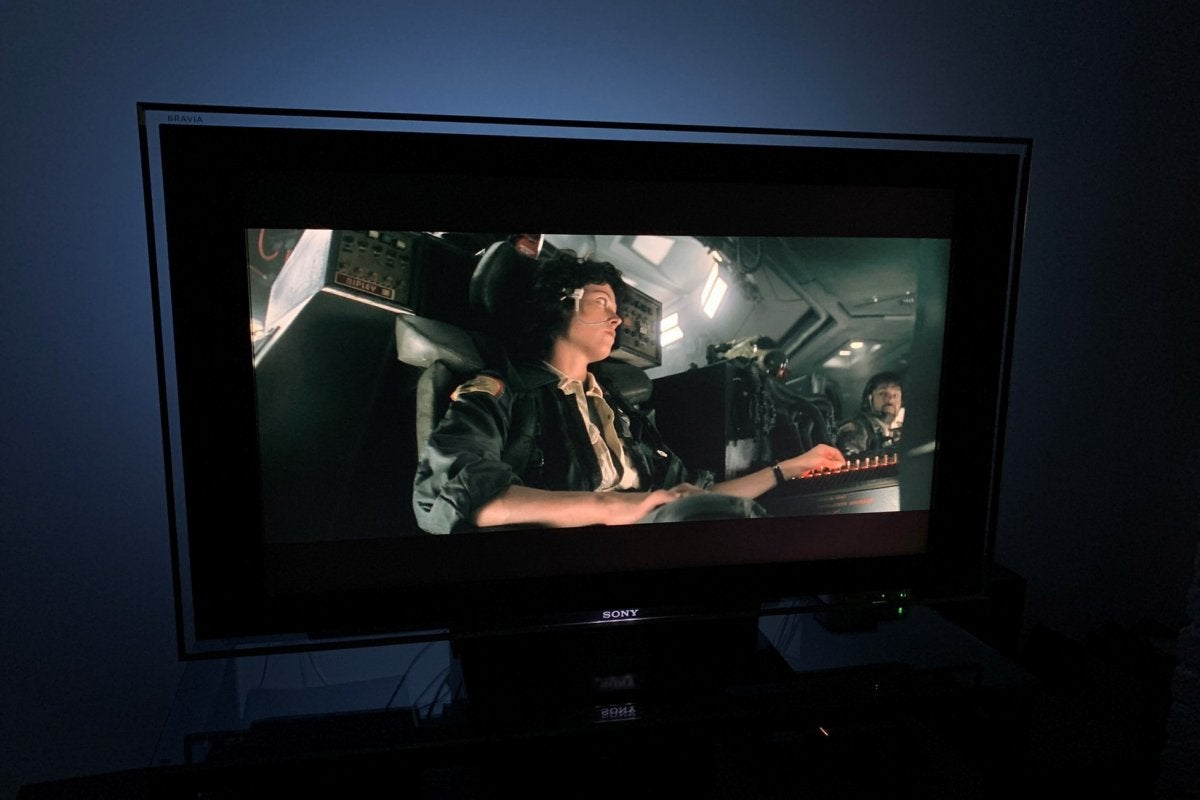 Vansky Bias Lighting for HDTV review: This bargain bias lighting strip is a little too cool