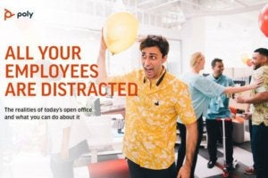 all employees are distracted