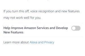 amazon alexa voice recordings