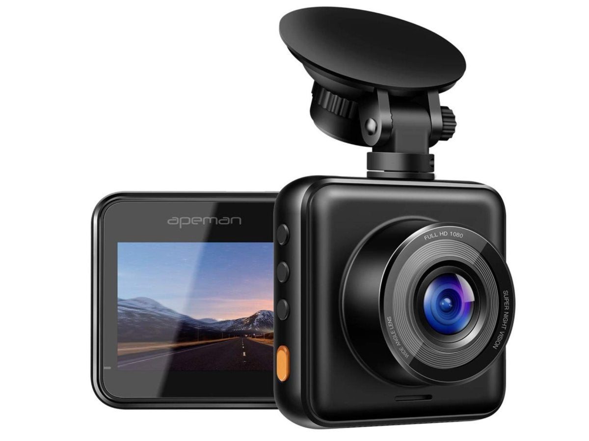 Track your travels with this $40, full HD dash cam