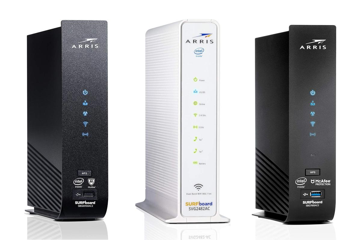 Get Arris Surfboard cable modems at all-time low prices in