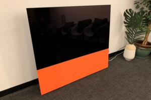 canvas speaker orange
