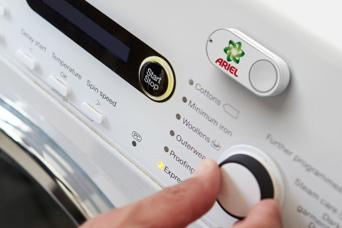 de ariel dash button washing mashine 2