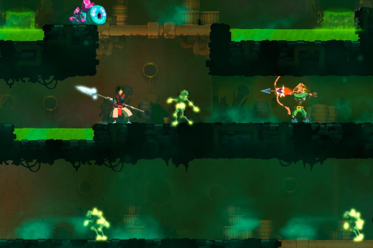 deadcells gameplay