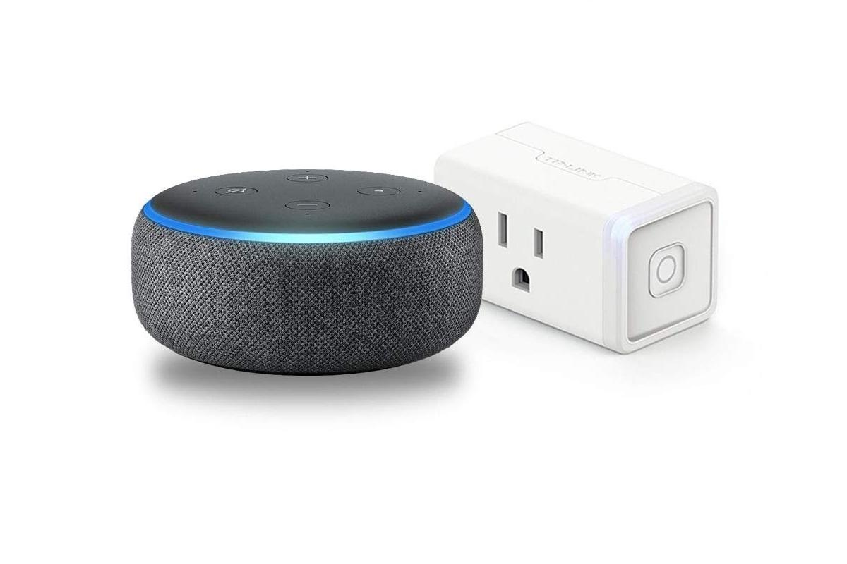 Grab an Amazon Echo Dot and a TP-Link Smart Plug Mini for