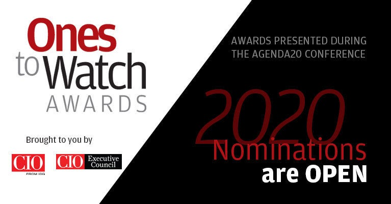 Ones to Watch award nominations