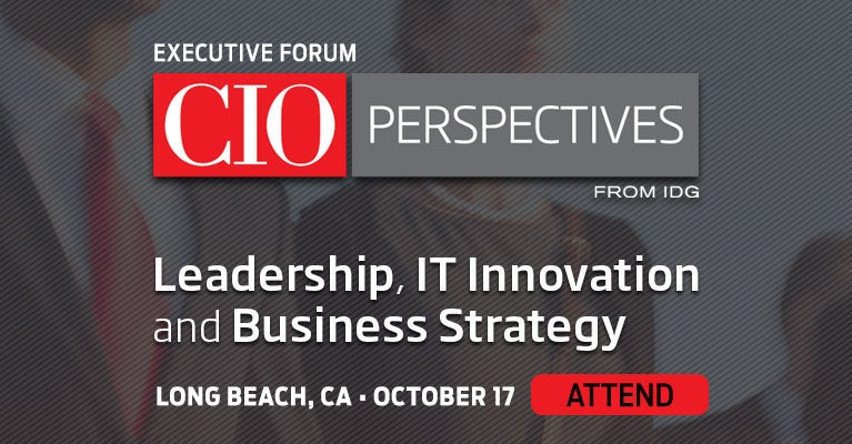 CIO Perspectives Long Beach October 17, 2019