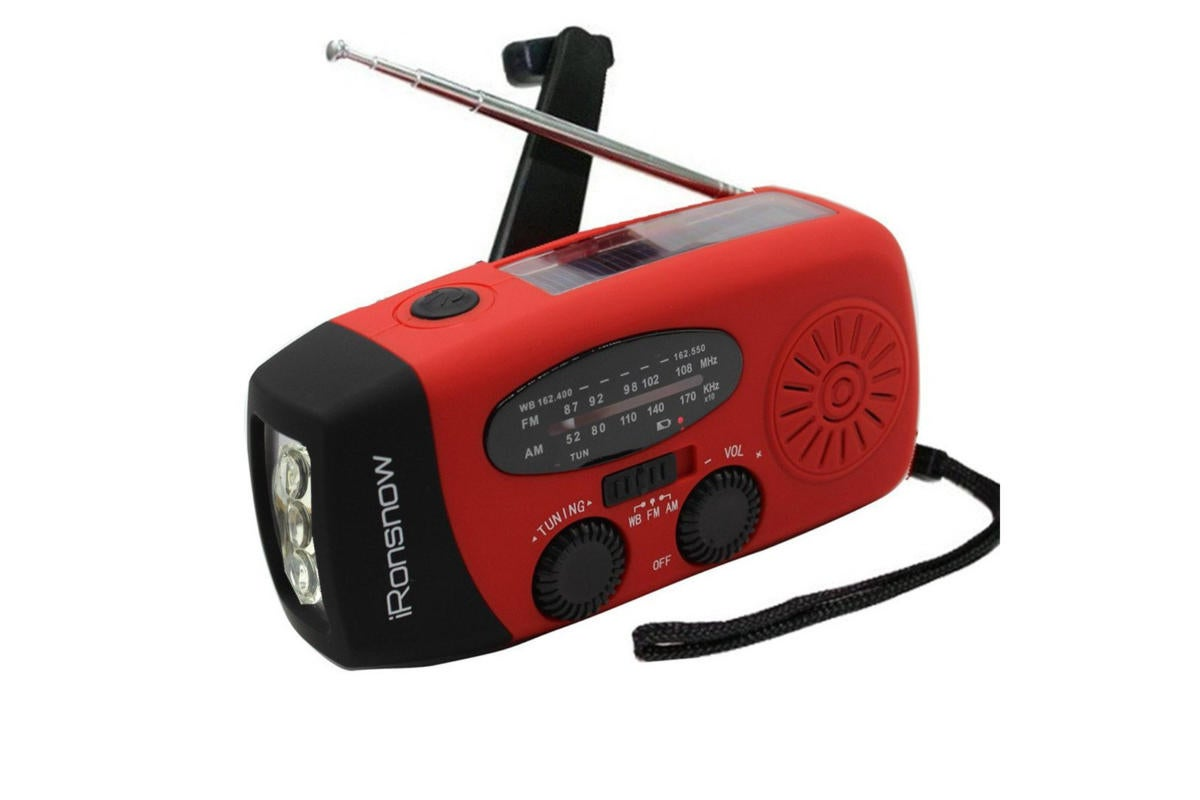 emergency radio ironsnow