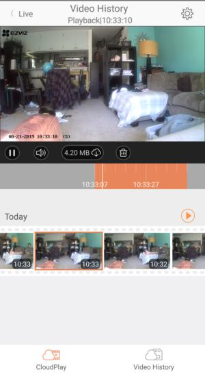 EZVIZ CTQ6C pan-and-tilt camera review: Smart motion