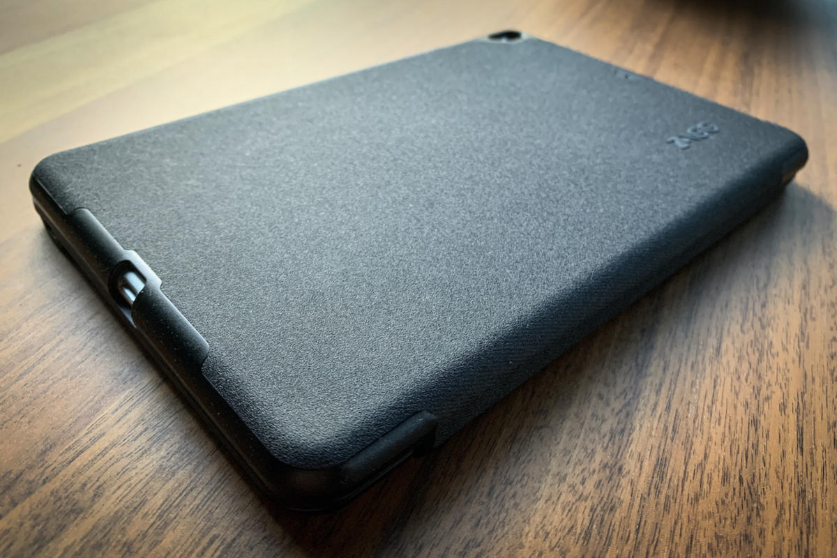ipad mini 5 zagg folio exterior