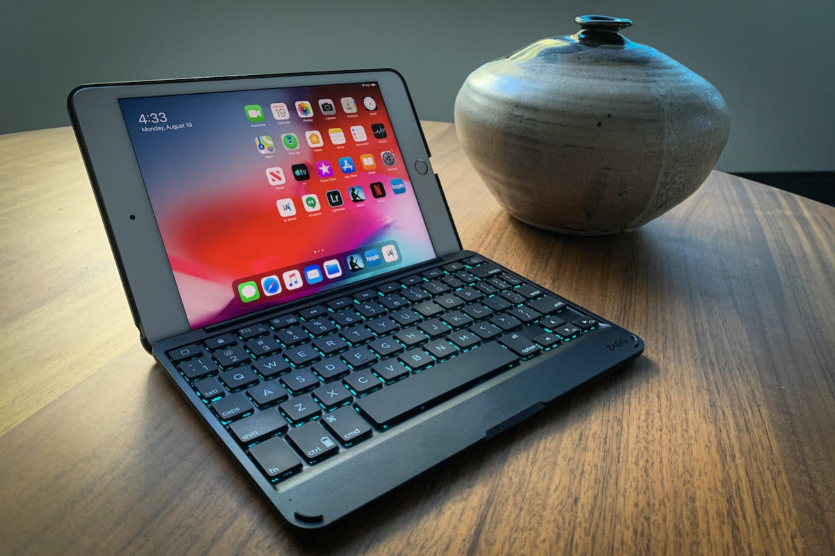 Zagg Folio Keyboard Case For Ipad Mini 5 Review Macworld