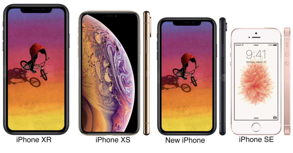 iphone size compare cheap