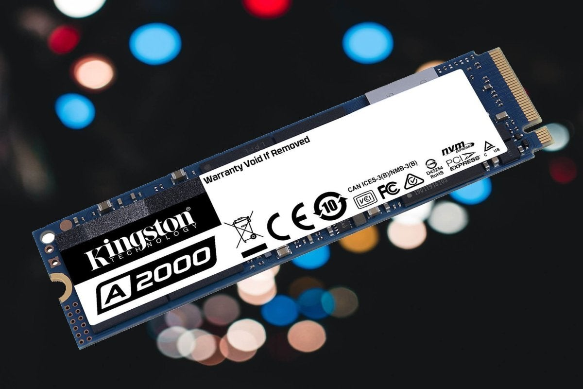 Kingston A2000 NVMe SSD: Fast and cheap, at 10 cents per