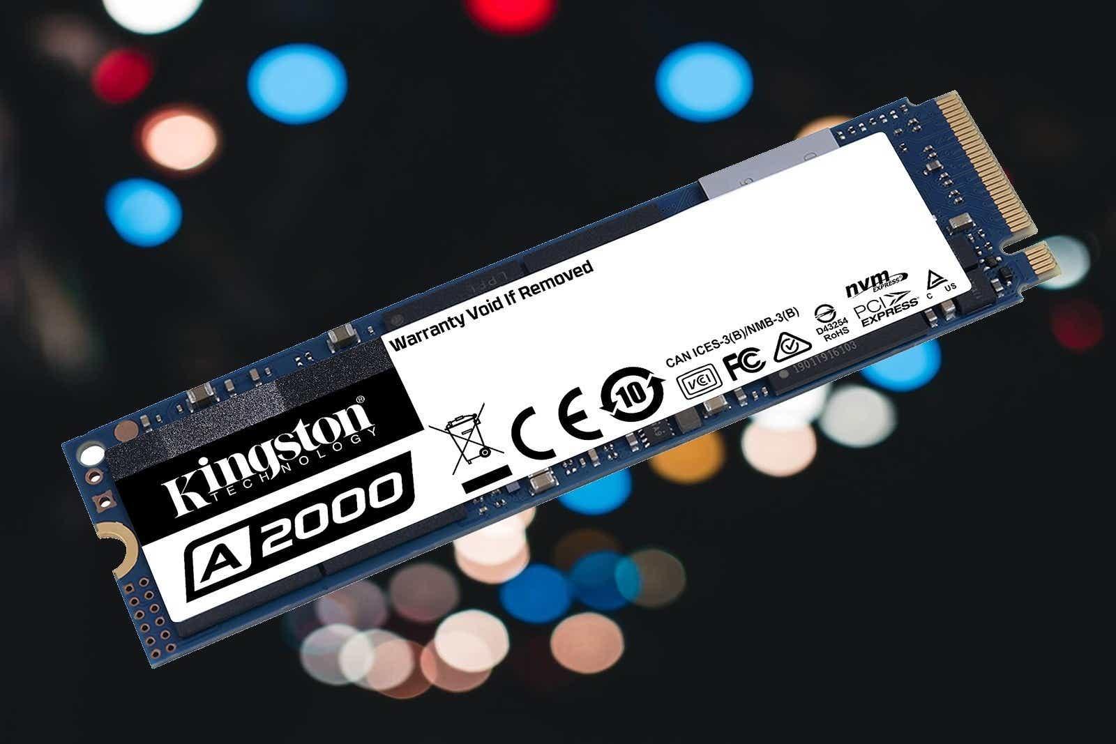 Kingston A2000 M.2 NVMe SSD (1TB)