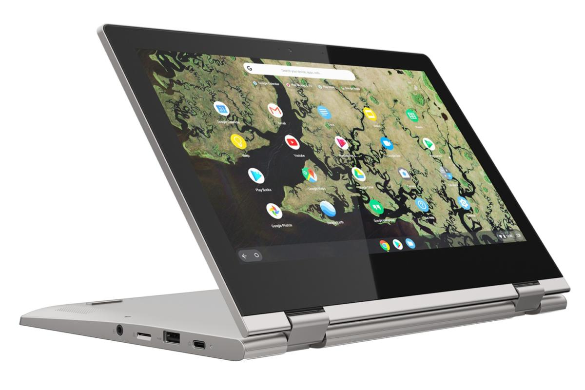 lenovo chromebook c340 11inch platinum grey presentation edited