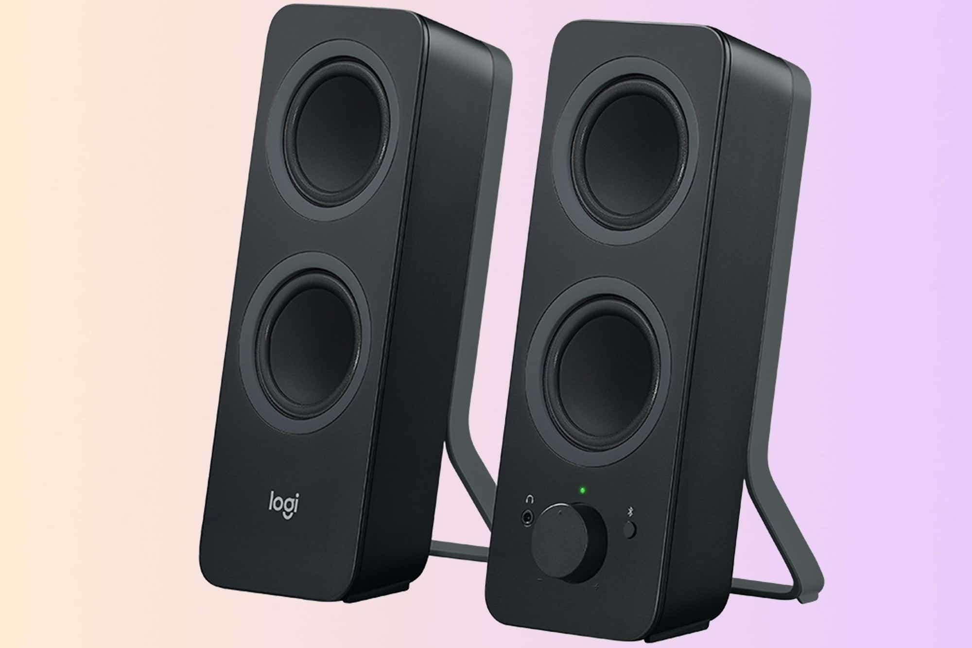 Logitech Z207 2.0 Stereo Computer Speakers