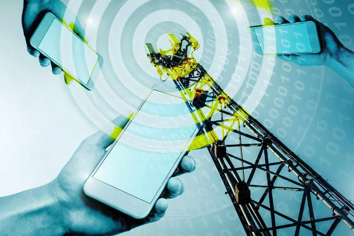 lte cellular service cell tower mobile phone binary