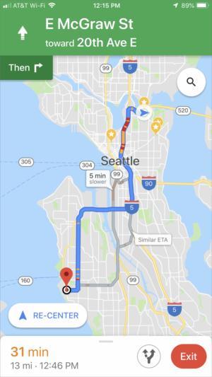 mac911 google maps alt routes