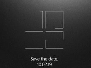 microsoft save the date Surface