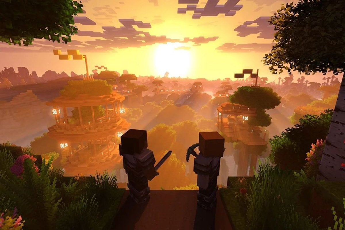 Minecraft's long-promised Super Duper Graphics Pack overhaul