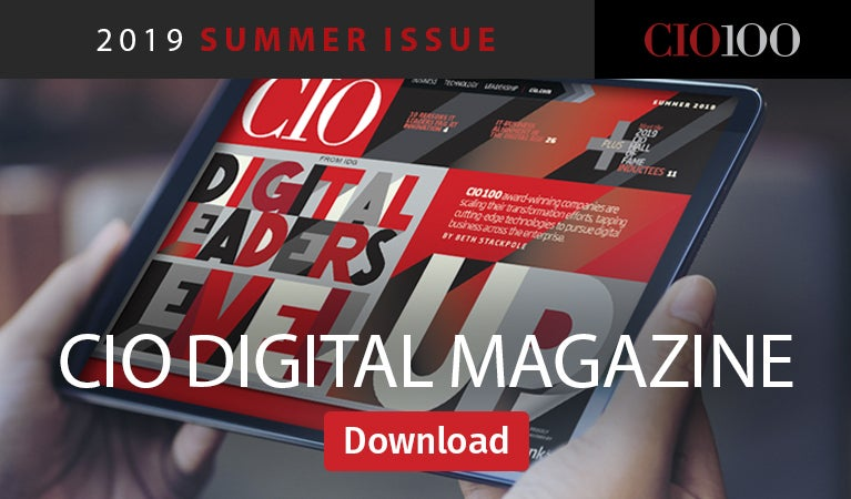 CIO digital magazine - summer 2019