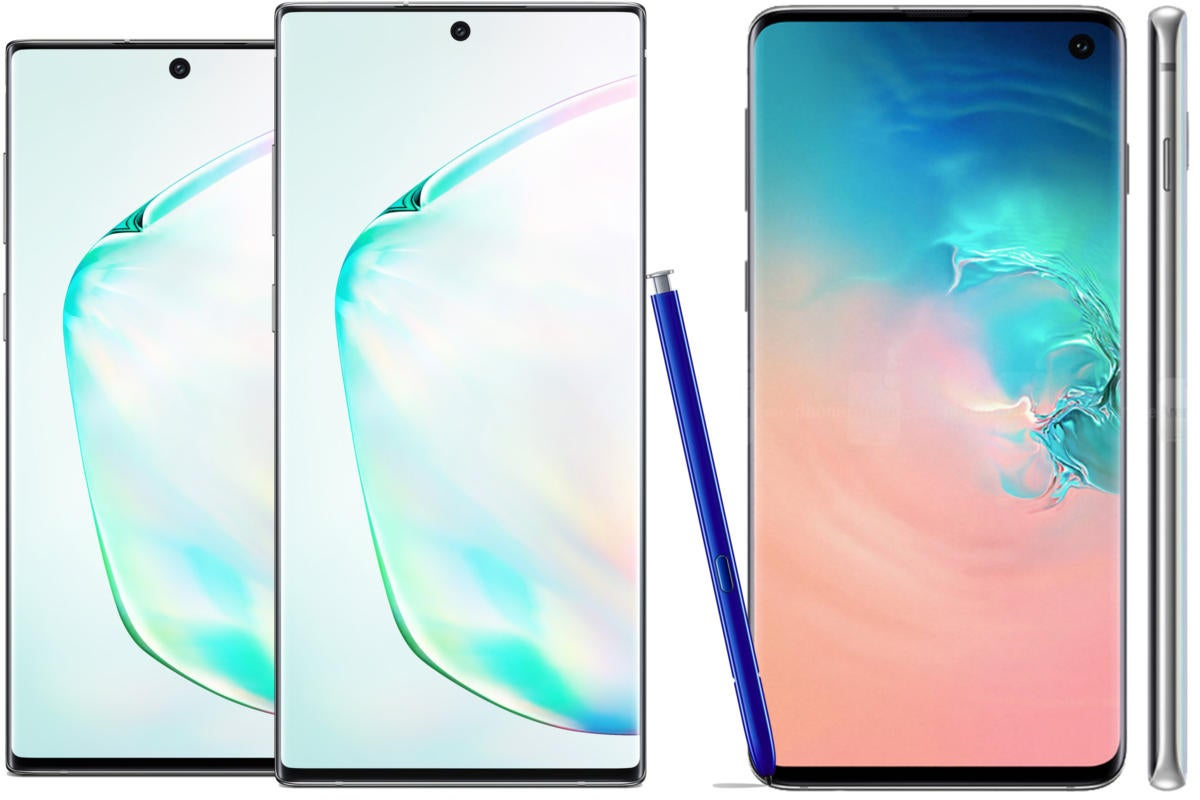Samsung Galaxy Note 10 vs Galaxy S10: Which high-priced