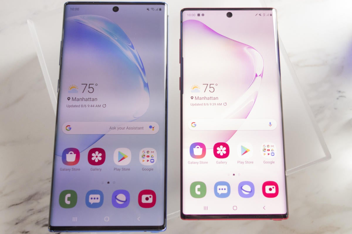 Samsung Galaxy Note 10+ hands-on: A new model changes the