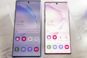 note 10 side by side