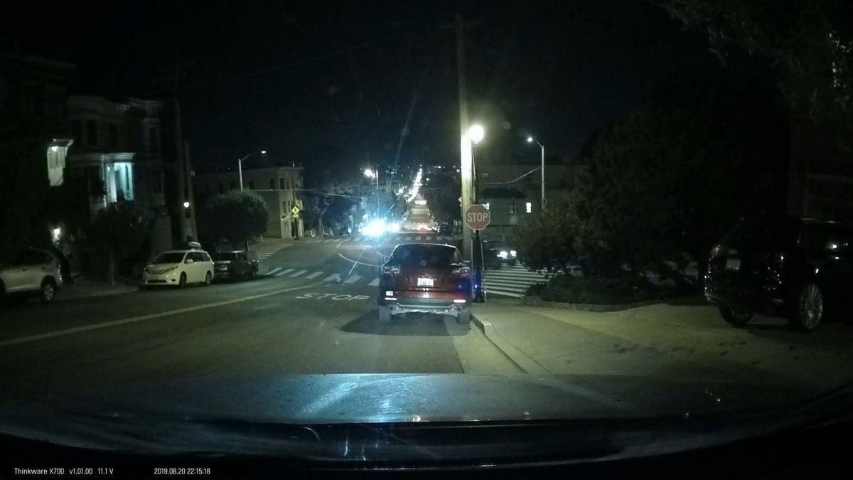 thinkware night front headlights