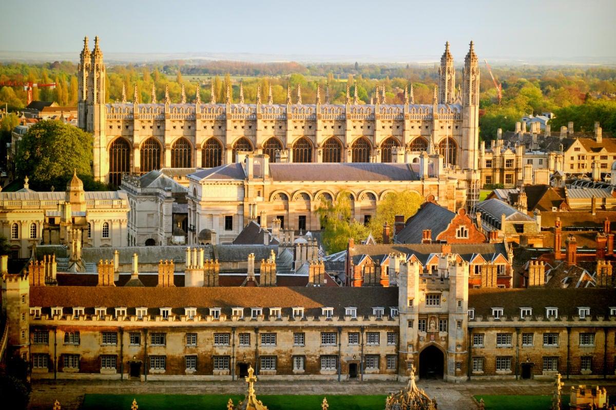 UK  |  United Kingdom  >  England  >  Cambridge  >  University of Cambridge colleges, rooftops view