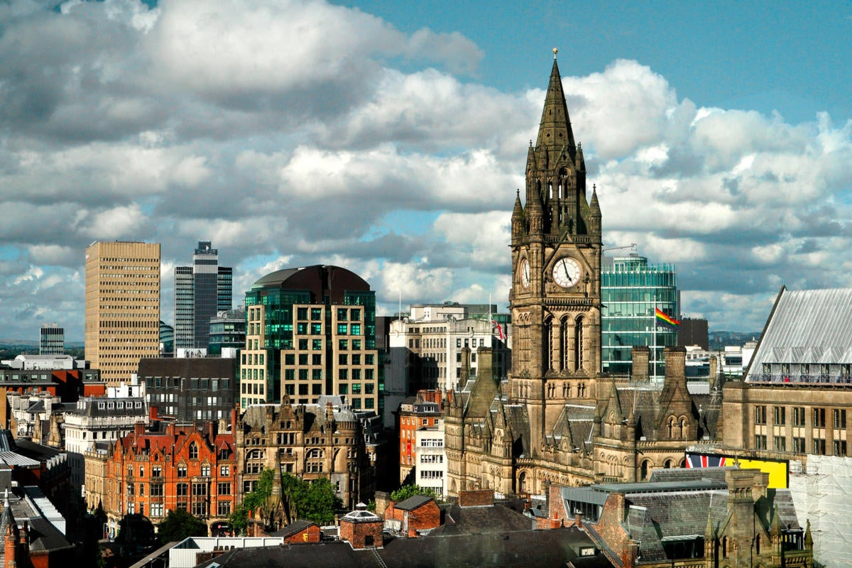 UK | United Kingdom  >  England  >  Manchester  >  Skyline / city centre / downtown