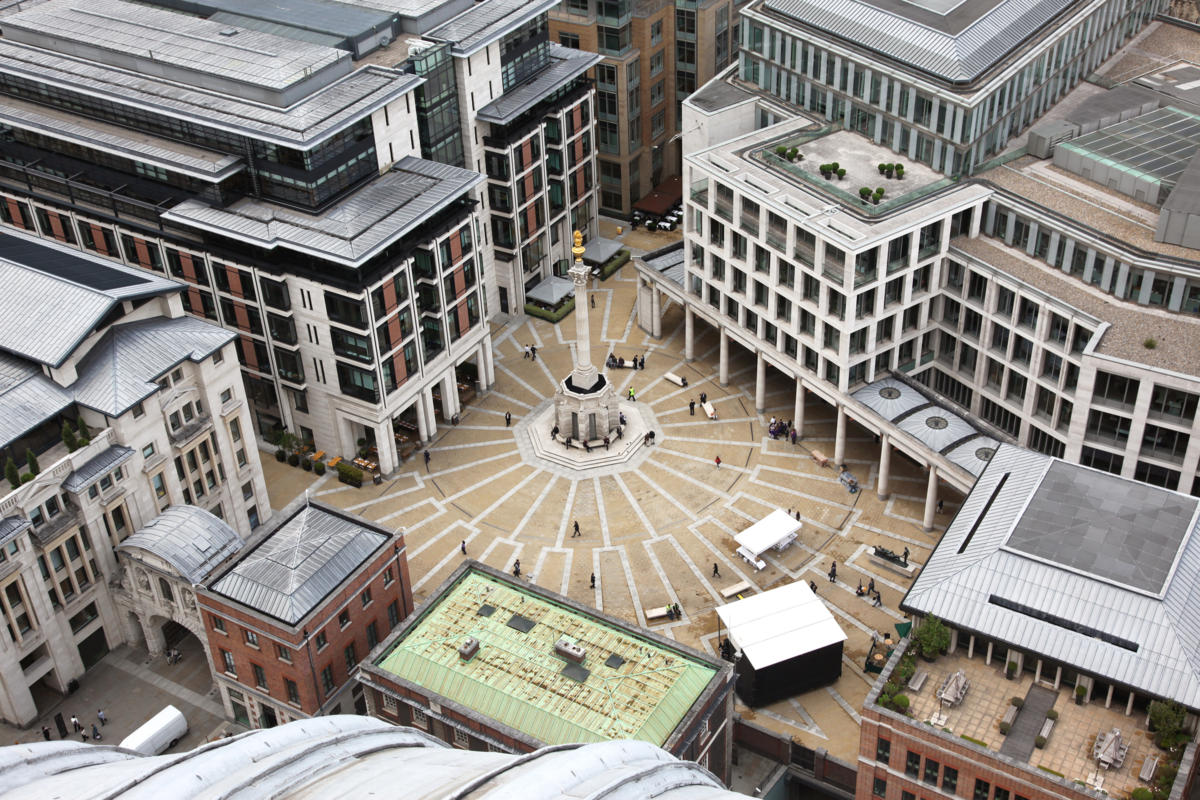 UK | United Kingdom  >  London >  Paternoster Square / London Stock Exchange