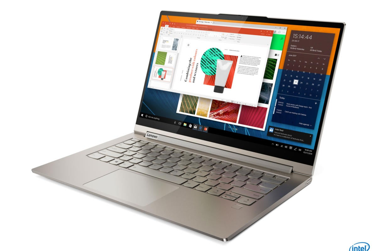 Lenovo's Yoga C740 and C940 laptops feature both Ice Lake