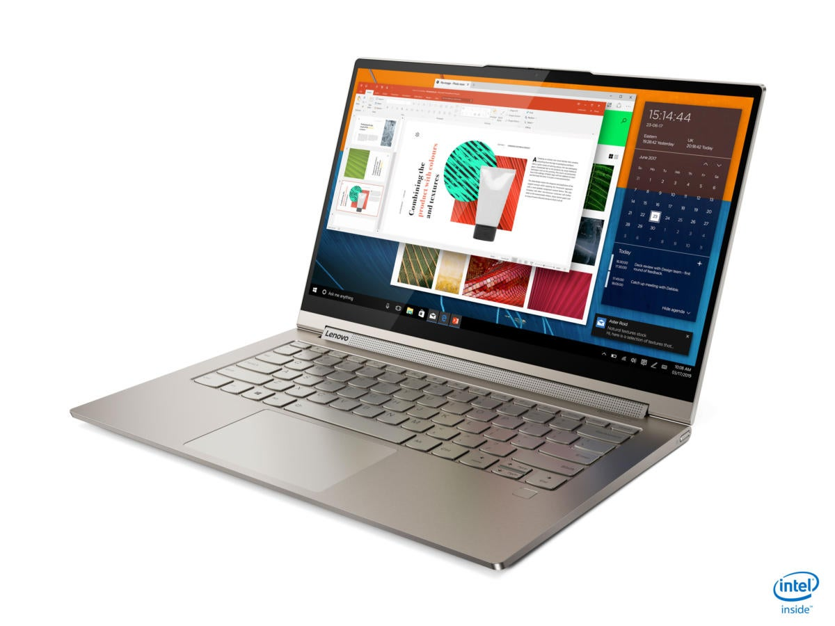 Lenovo's Yoga C740 and C940 laptops feature both Ice Lake