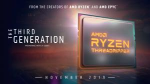 amd ryzen threadripper 2019