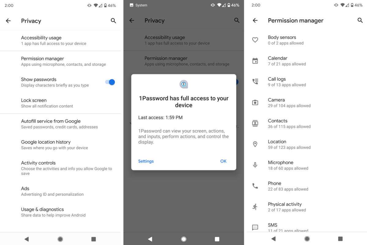 android 10 privacy
