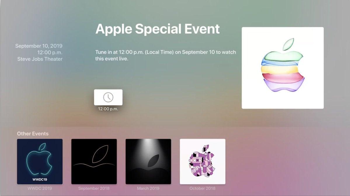 apple event sept appletv