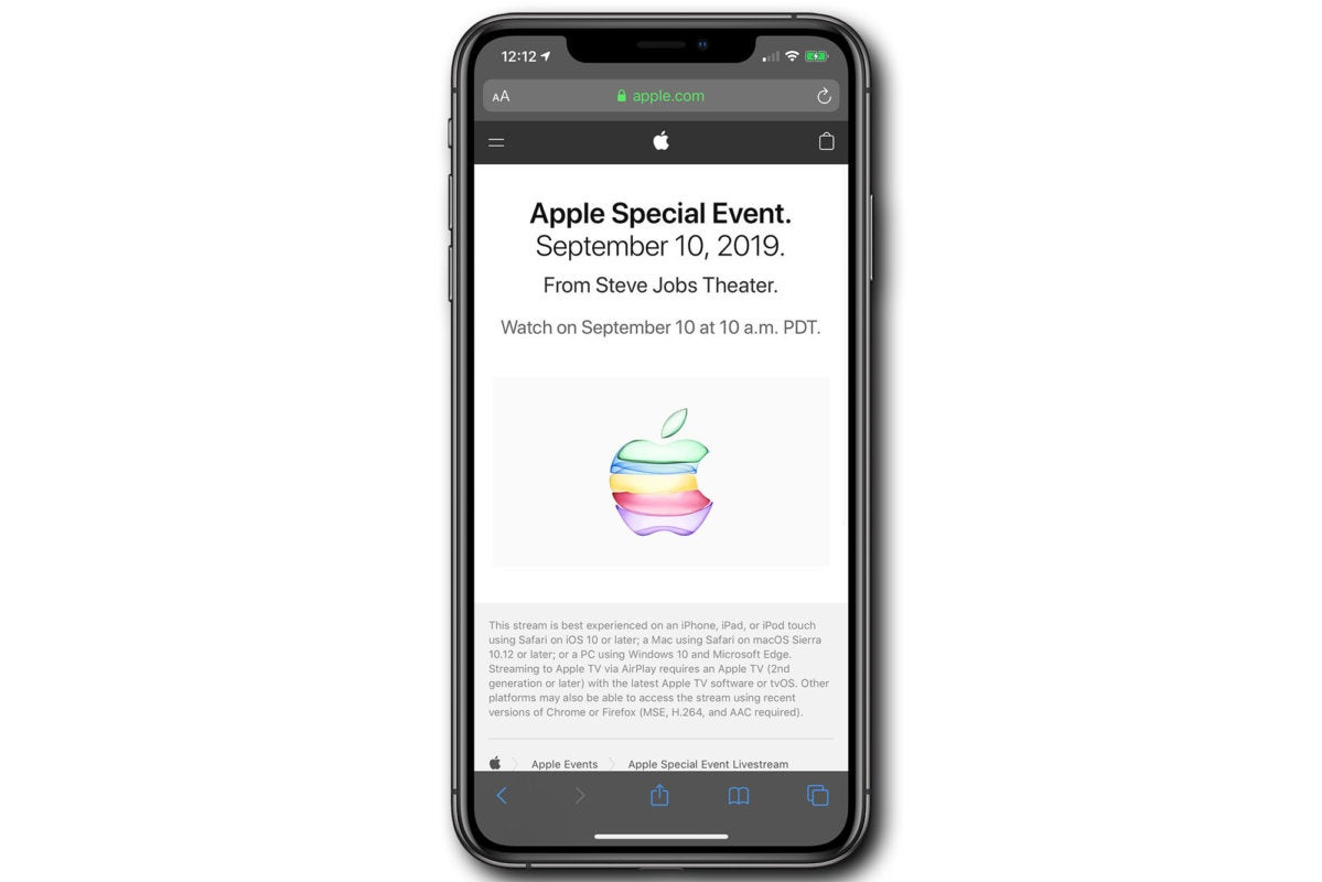 apple events iphone