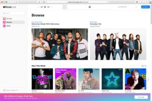 apple music web beta