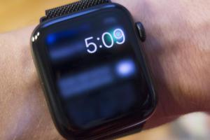apple watch always on blur