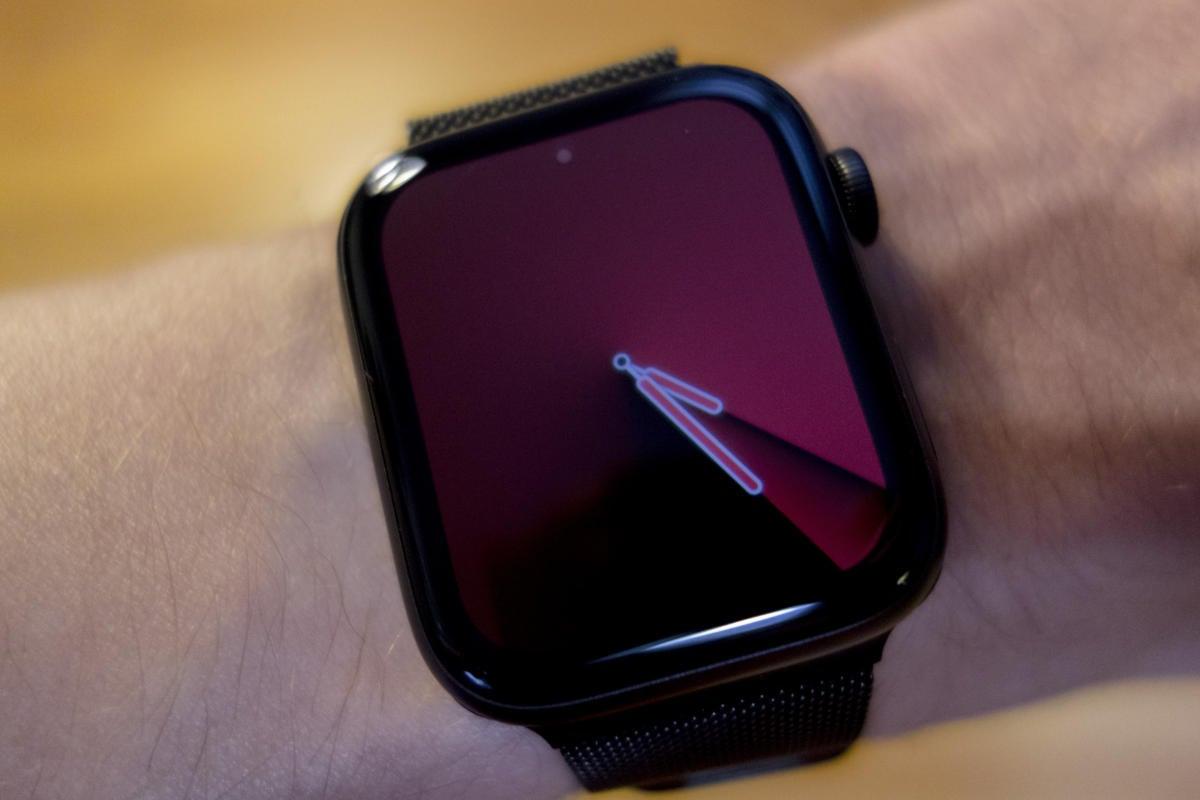 apple watch always on gradient