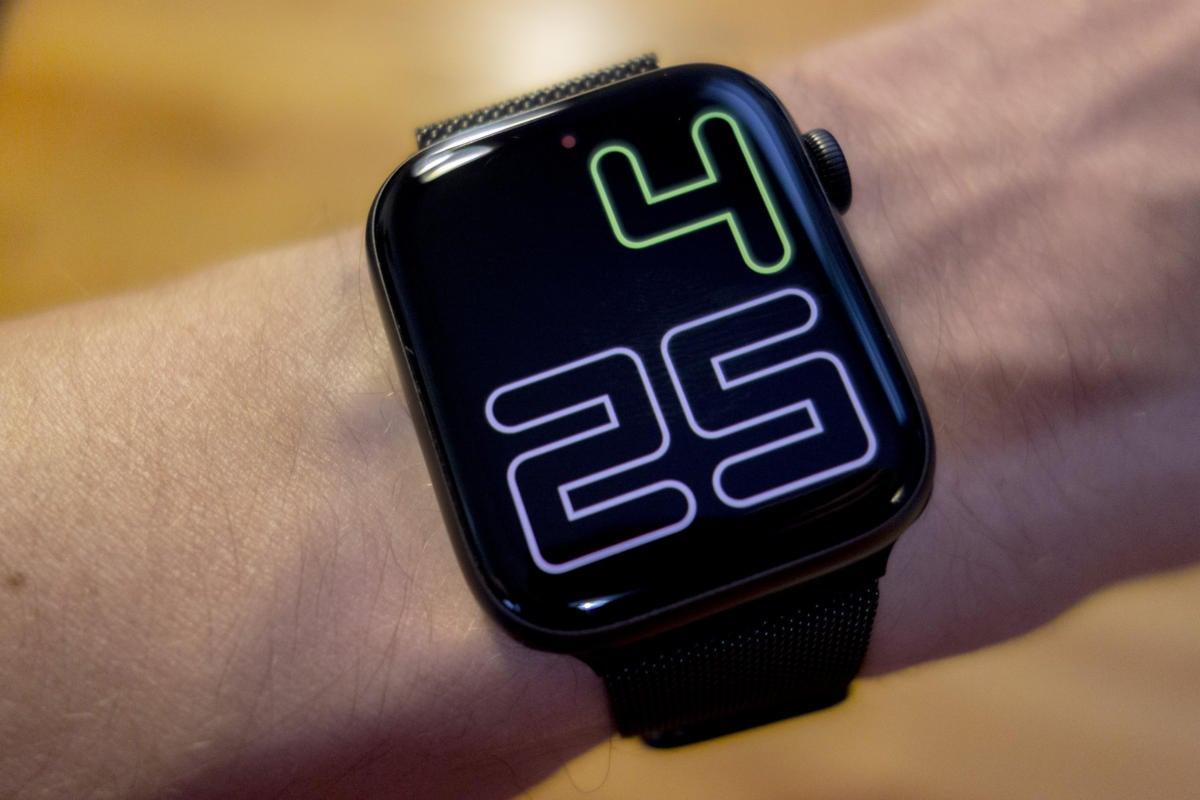 apple watch always on numerals