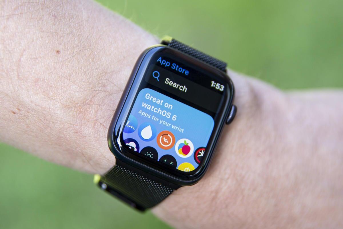 apple watch series 5 app store