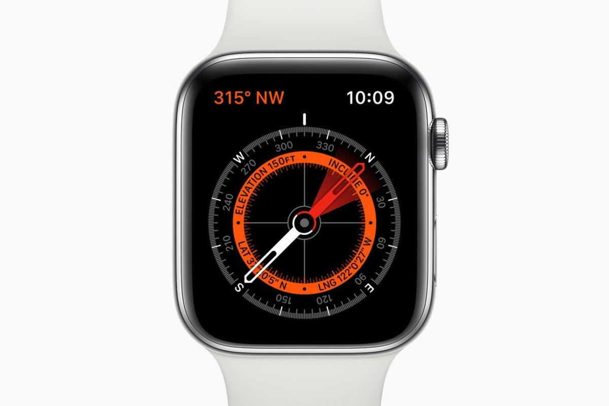 apple watch series 5 compass