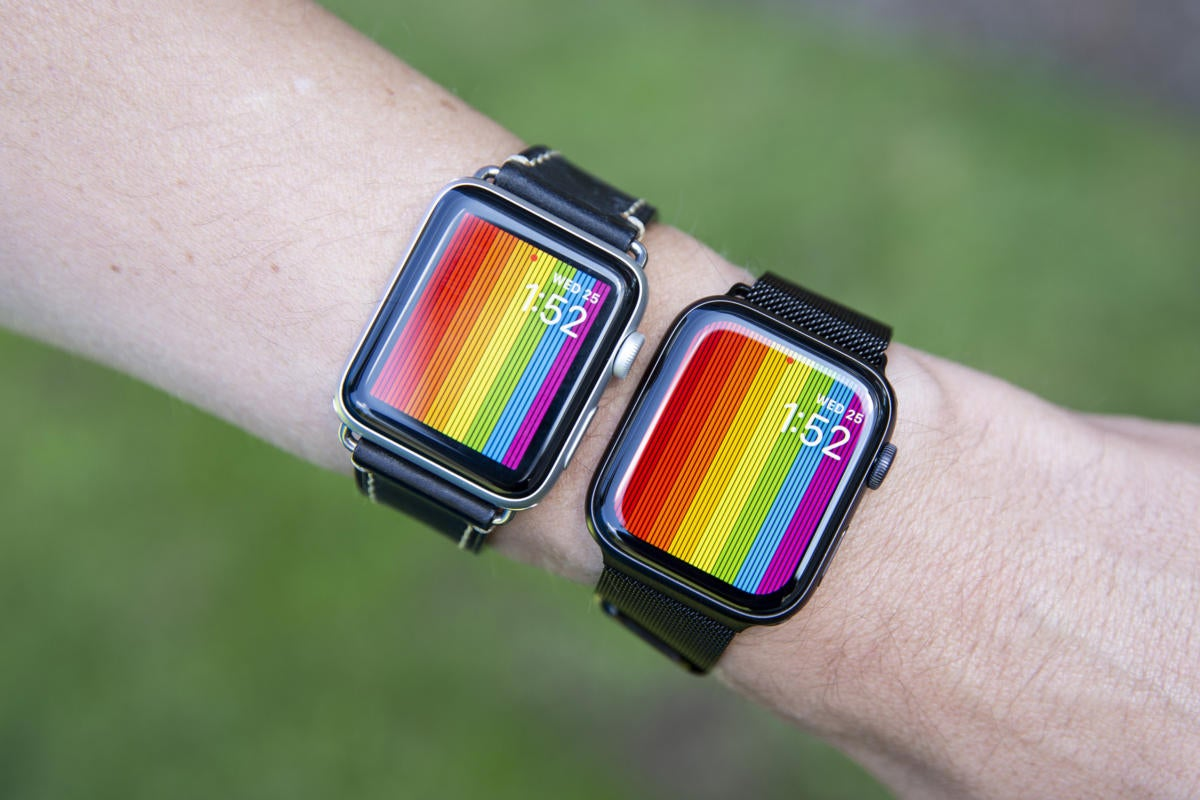 apple watch series 5 screen compare